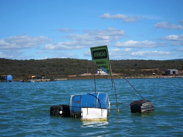 Pescadores artesanais têm acesso limitado à água em áreas onde há presença crescente de empresas da Aquicultura. Foto: Renata Bessi.
