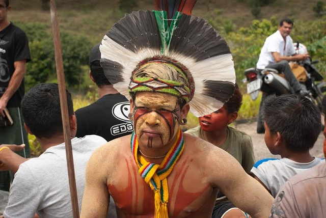 Indígena Pataxó luta pela demarcação de suas terras