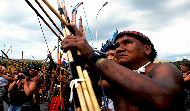 Indigenous People Occupy Brazil's Legislature, Protesting Bill's Violation of Land Rights