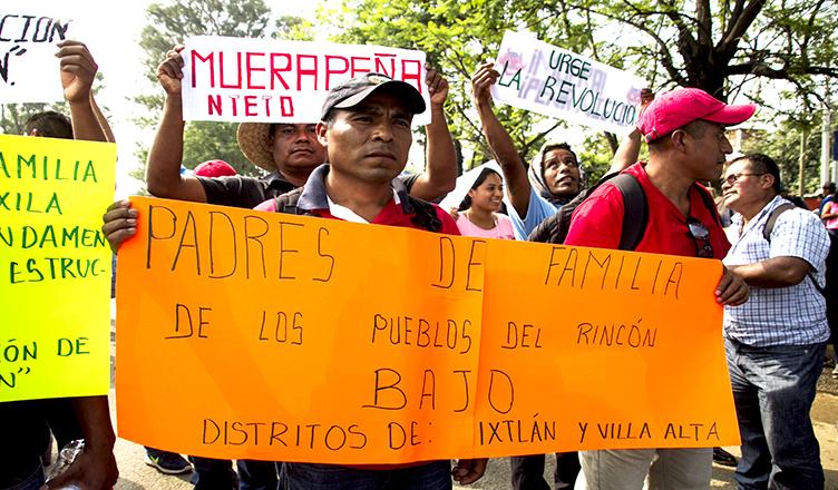 Militarización y la resistencia a la Reforma Educativa en México