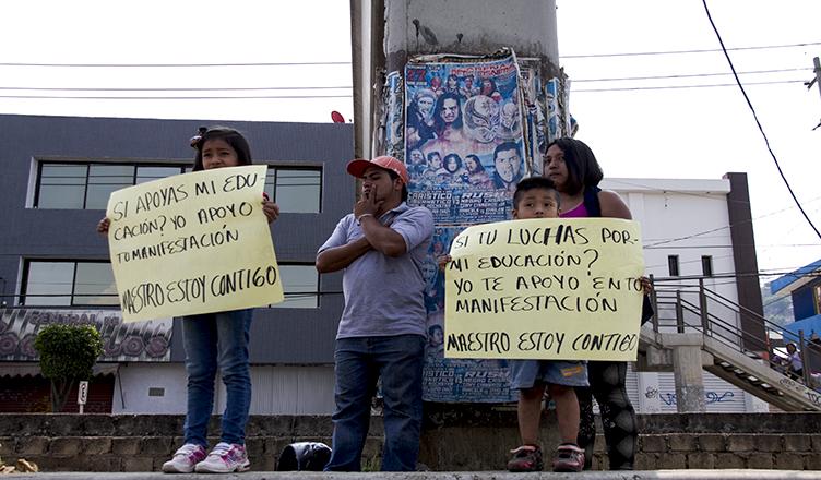 Más de 70 organizaciones respaldan la huelga magisterial en Oaxaca