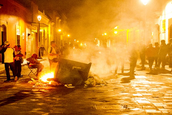 After Police Attack, Barricades Reappear in Oaxaca