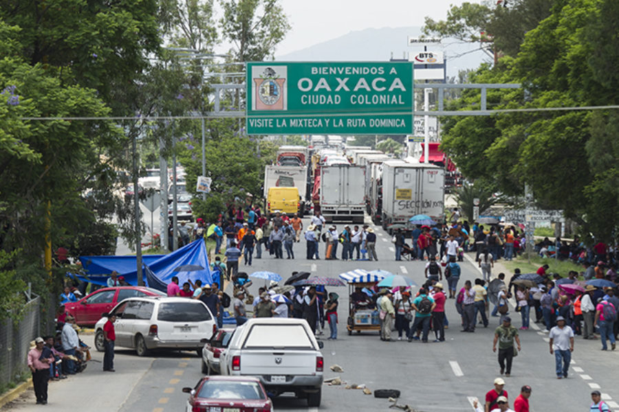 Resistance Extends Throughout Oaxaca Against Education Reform