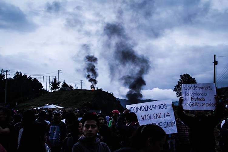115 organizaciones sociales rechazan desalojo violento en Chiapas