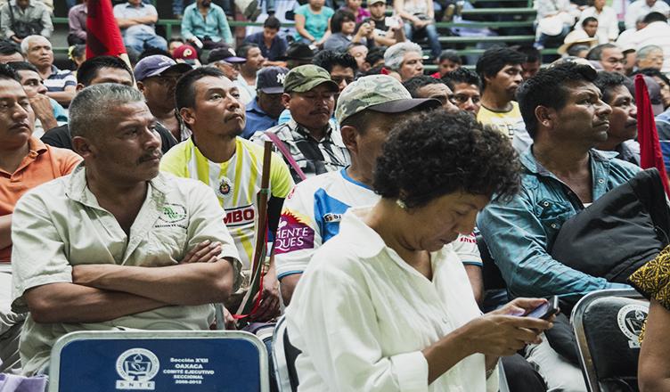Se fortalece el acercamiento de los pueblos originarios en Oaxaca contra Reformas Estructurales