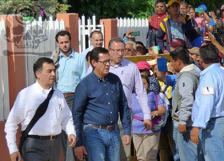 El arribo del funcionario de Peña Nieto a Nochixtlán no representa una solución