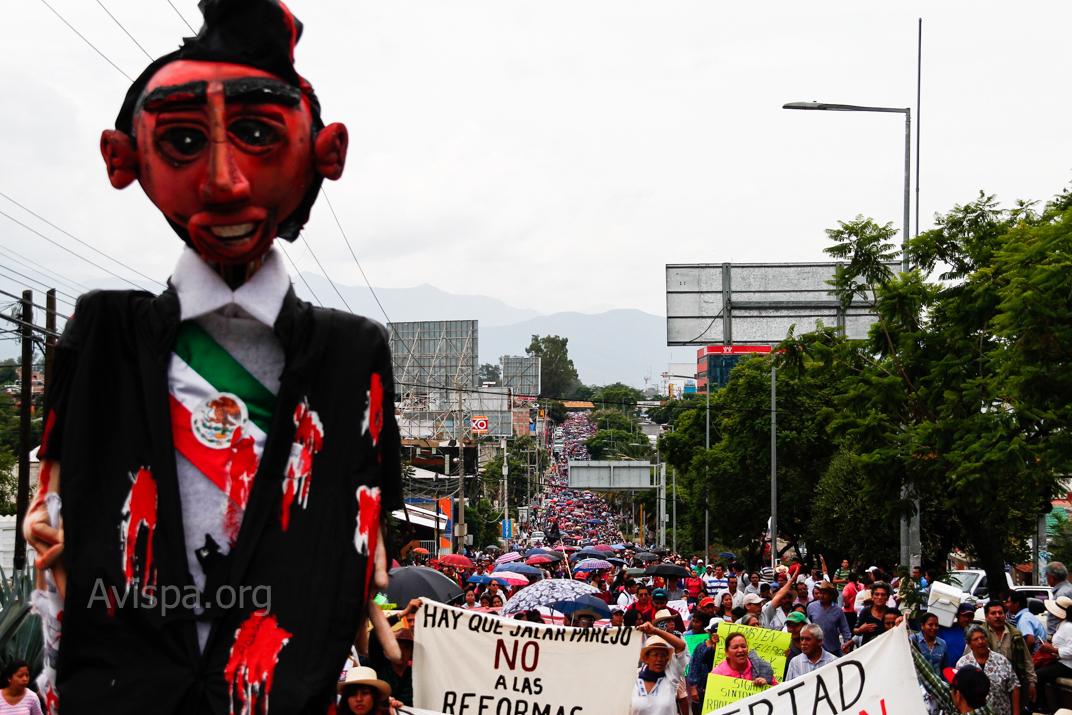 Sección 22 no volverá a las clases hasta que se resuelva la masacre de Nochixtlán