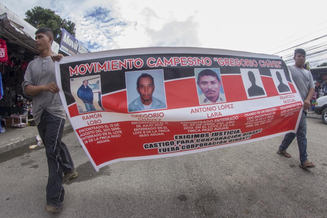 Honduras: Continúa persecución contra campesinos en el Bajo Aguán