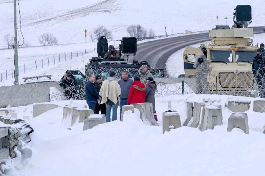 Response to North Dakota Law Enforcement Press Conference on December 3rd