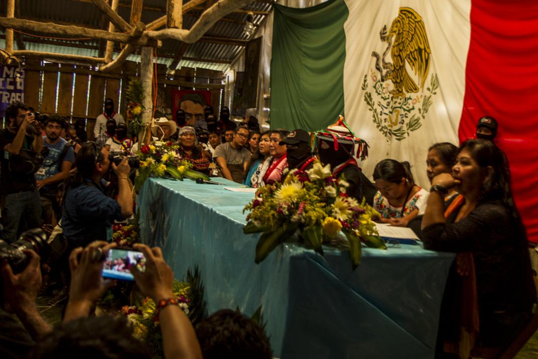 México: CNI convoca a que la rebeldía llene las boletas electorales del 2018