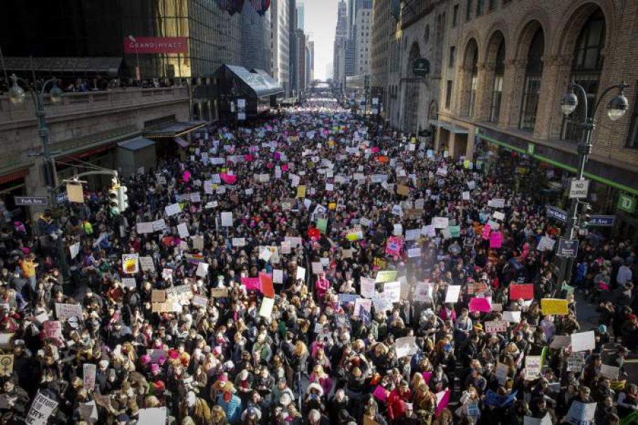 3 millions protests against Trump