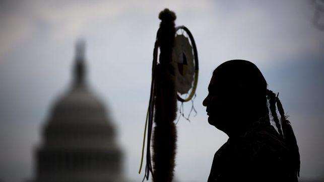 Los Sioux (también) se ponen en pie de guerra contra Donald Trump