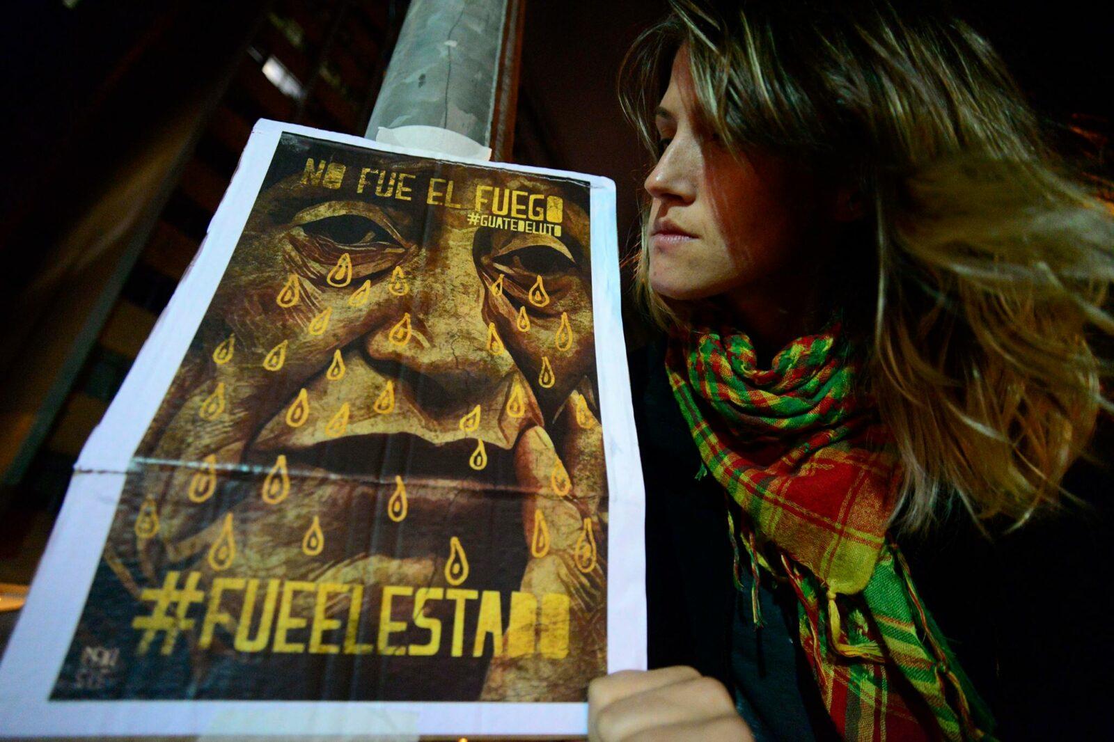 Brasil: São Paulo se une al Plantón Mundial por las Niñas de Guatemala