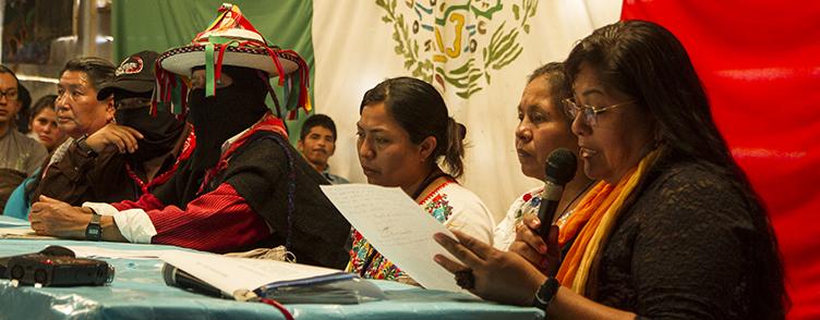 Chamada para a Assembléia Constituinte do Conselho Indígena de Governo para o México