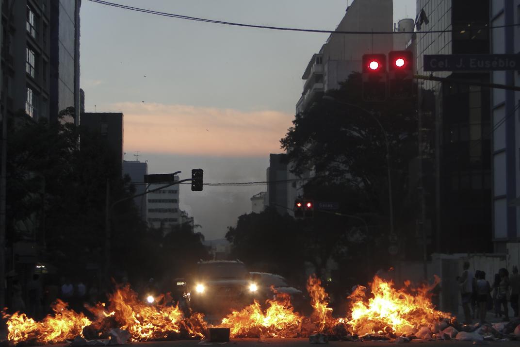 Huelga general en Brasil paraliza las principales ciudades