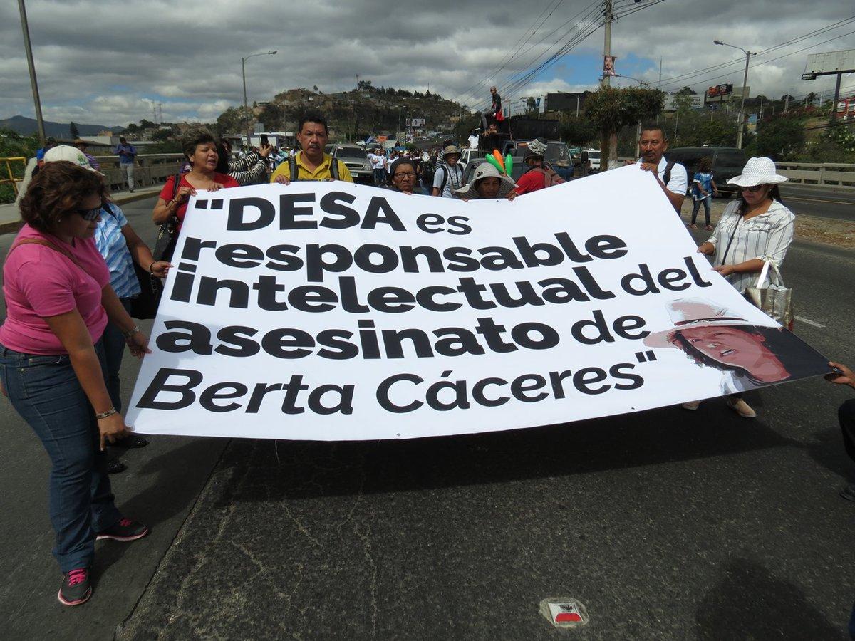 Cuatro acusados por la muerte de Berta Cáceres van a juicio oral y público