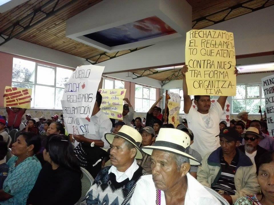 Guatemala: comunidades rechazan reglamentación de las consultas comunitarias