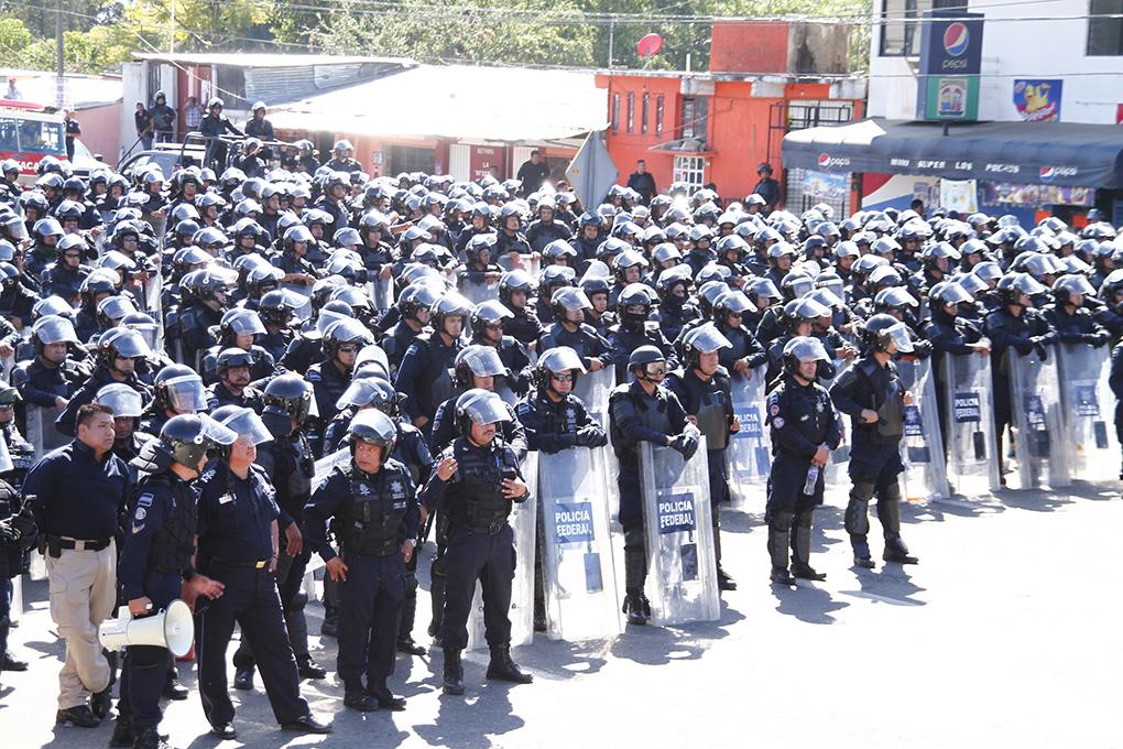 México: Estado de sitio en Oaxaca por visita de Enrique Peña Nieto