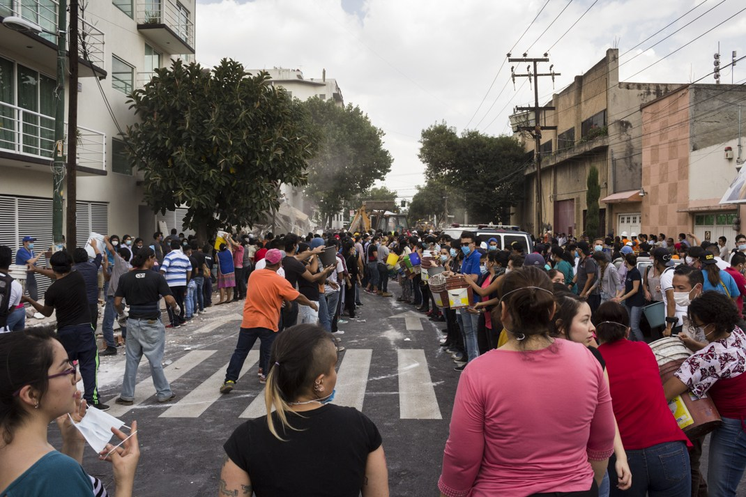 México:La solidaridad también produce réplicas