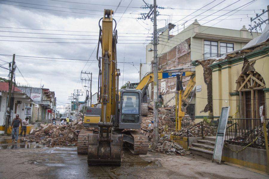 México: Se aplica doctrina del shock tras terremoto en Oaxaca