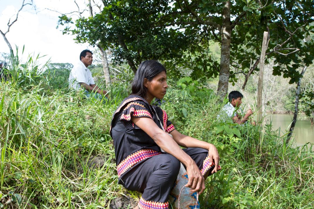 Panamá: indígena Ngäbe-Buglé amenazados por las inundaciones de hidroeléctricas