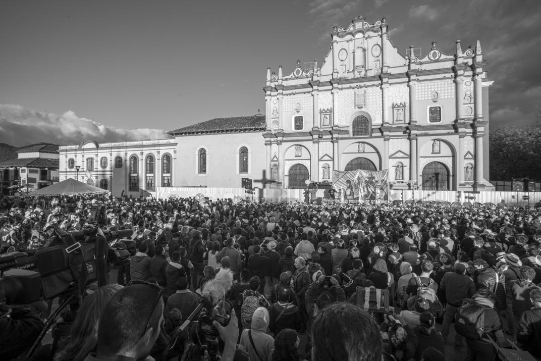 """""""Hagamos una organización más allá del 2018"""": Concejo Indígena de Gobierno en Chiapas"""