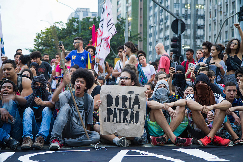 Massive Protest in Brazil over Fare Hike