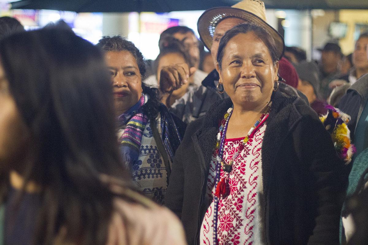 Marichuy y Concejo Indígena de Gobierno son recibidos en Oaxaca