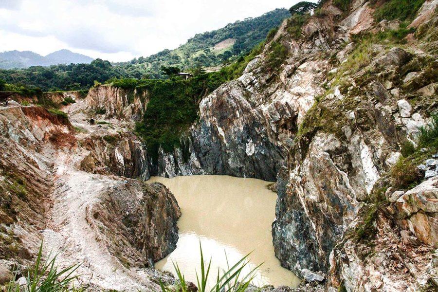 Comuneros en Chiapas dicen ¡no! a los 5 dólares por tonelada de titanio extraído en sus tierras