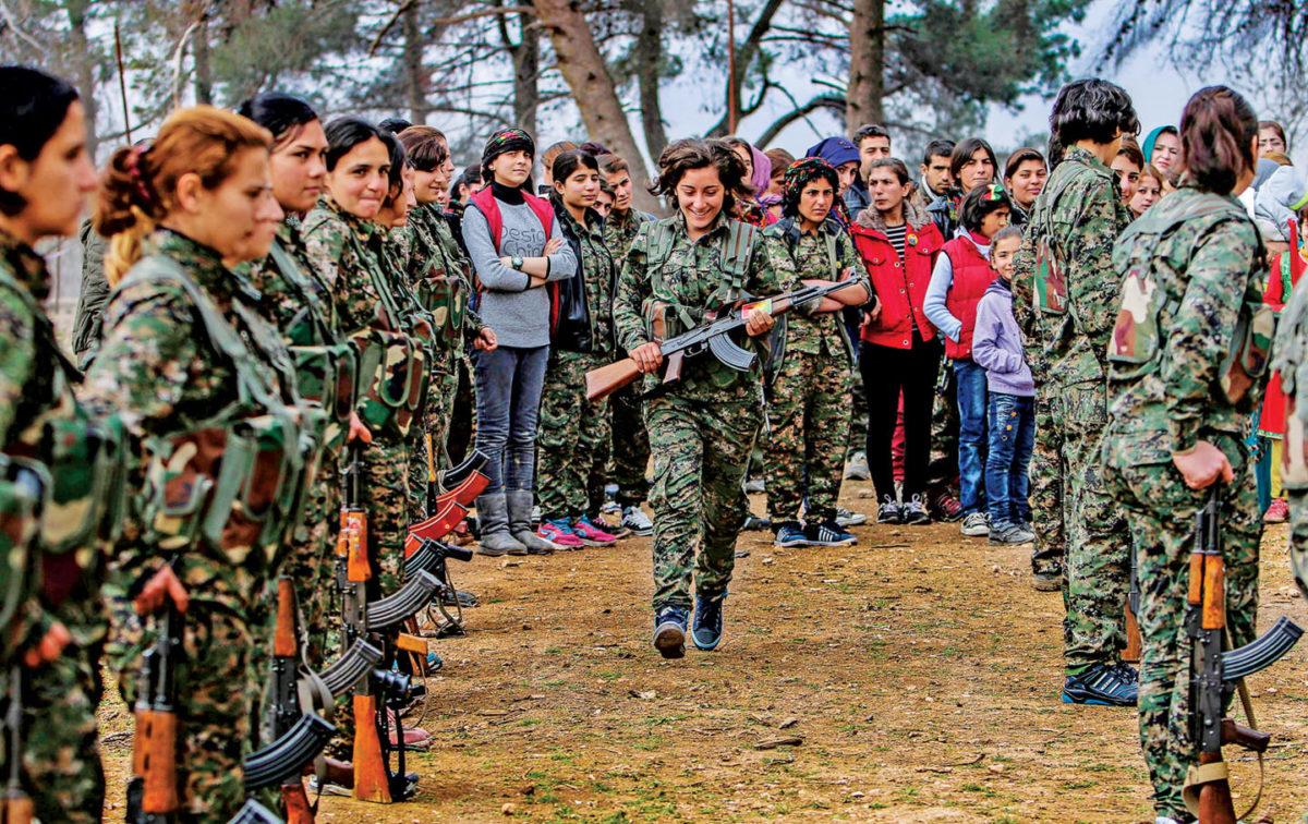 Congreso Nacional Indígena condena ataque militar de Turkia hacia  Afrin, Siria