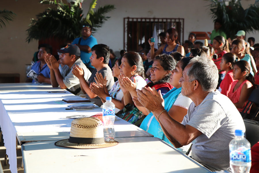 Costa e Istmo de Oaxaca comparten dolores y resistencias con caravana del CIG