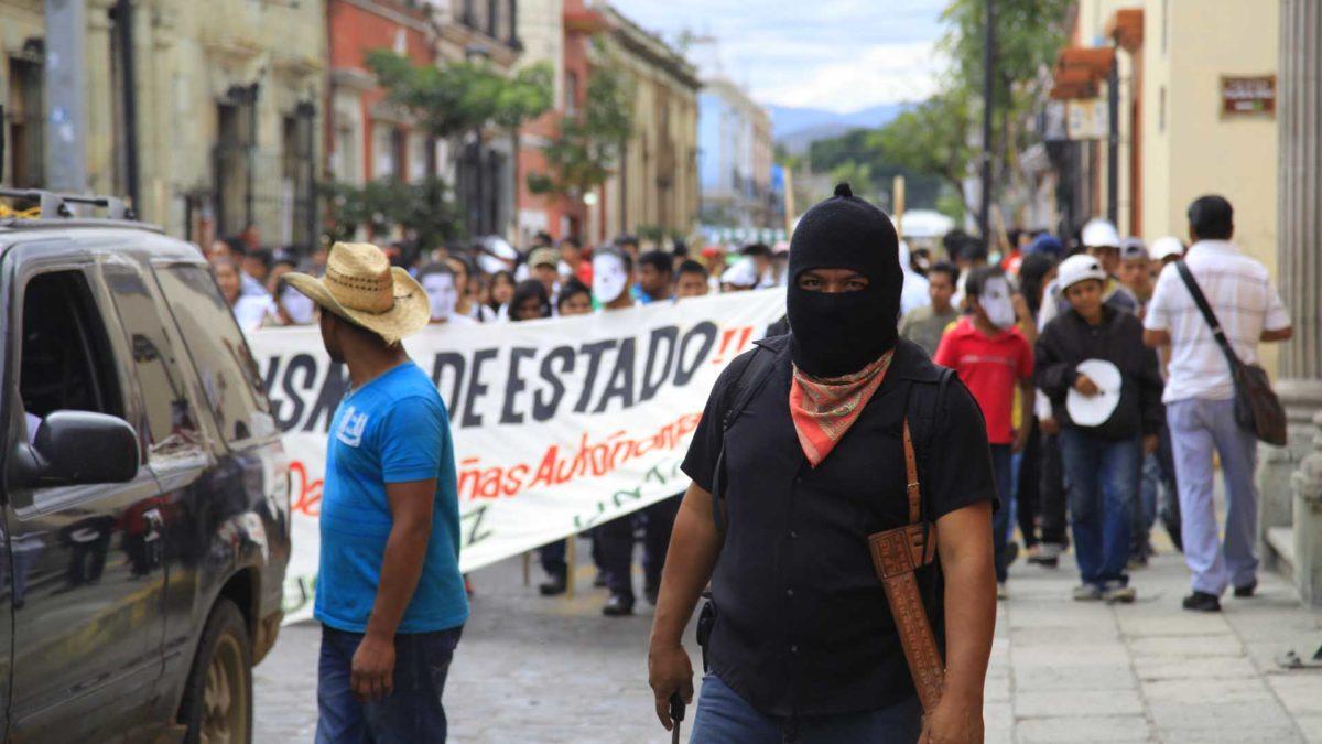 México: Jovens indígenas defensores dos direitos, uma pedra no sapato do governo