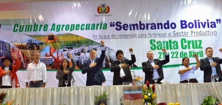 """Activistas rechazan proyecto """"Sembrando Bolivia"""" de Evo Morales y de empresarios del agronegocio"""