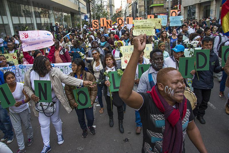 Colombia: Enero, un mes trágico para líderes y reclamantes de tierras