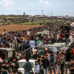 Israel dispara contra manifestantes palestinos, se reportan 15 muertos y más de mil heridos