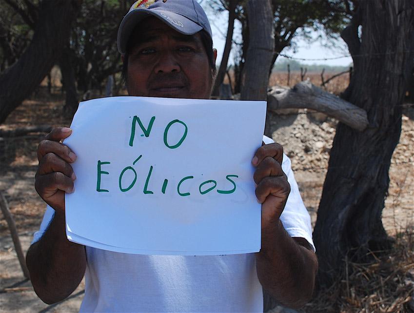 Implementan grupos de choque para imponer el corredor eólico del Istmo de Tehuantepec