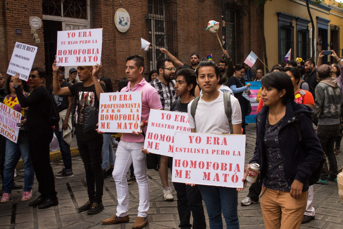 Sin cifras reales sobre asesinatos de personas LGBT, denuncian miembros oaxaqueños