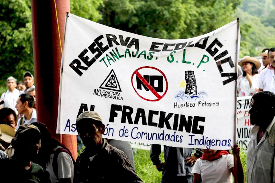 México: Más de 4 mil indígenas se manifiestan contra fracking en la Huasteca Potosina