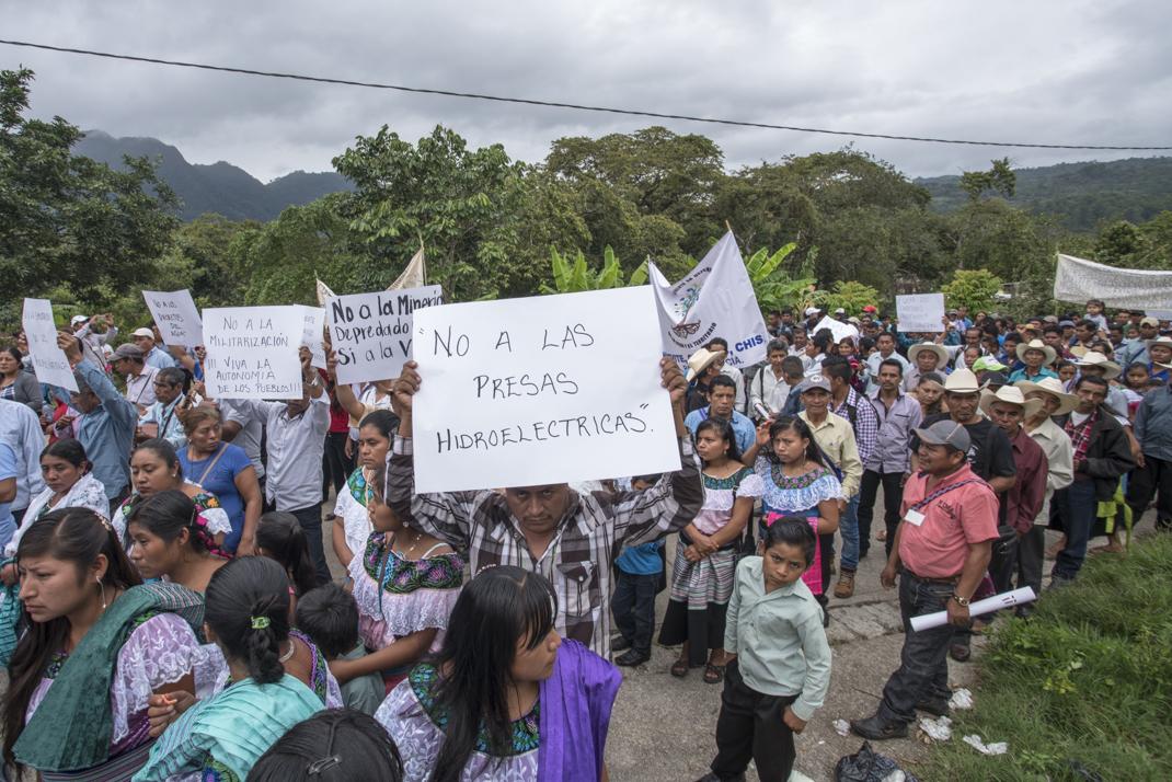 Pueblos del norte de Chiapas exigen respeto a su libre autodeterminación