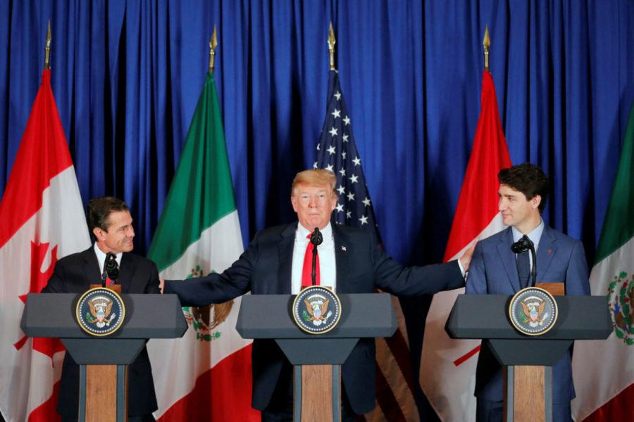 Peña Nieto, en su último día de gobierno, firma nuevo acuerdo comercial en el G20 con EEUU y Canadá