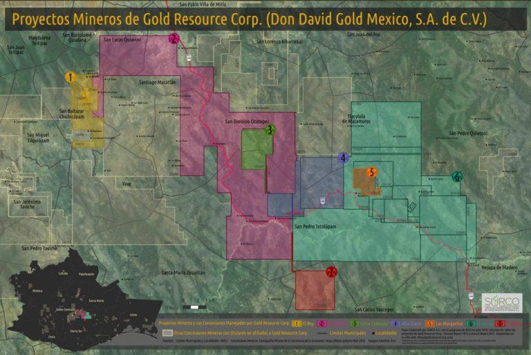 Mineras de Canadá y EE.UU. acaparan el 80% del territorio de los Valles de Oaxaca