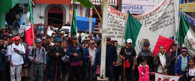 Pueblo chol de Tila celebra 3er aniversario de su autogobierno y denuncia usurpación de cargos