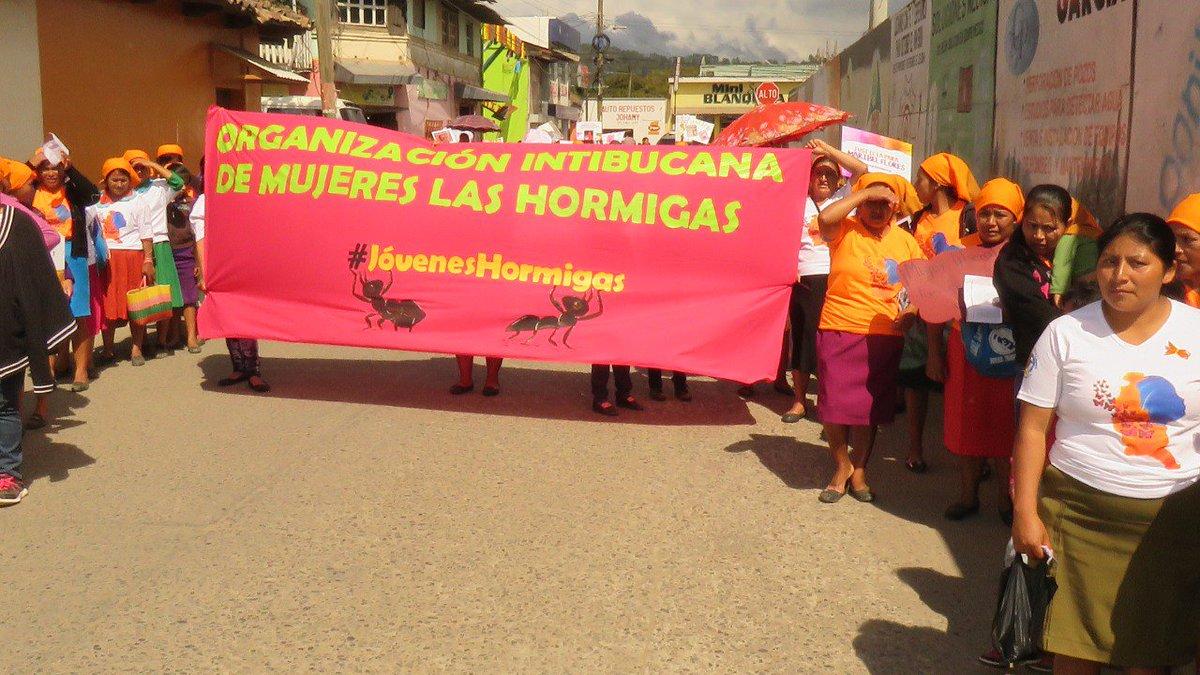 Eva Sánchez: la Hormiga que resiste y lucha por los derechos de las mujeres en Honduras