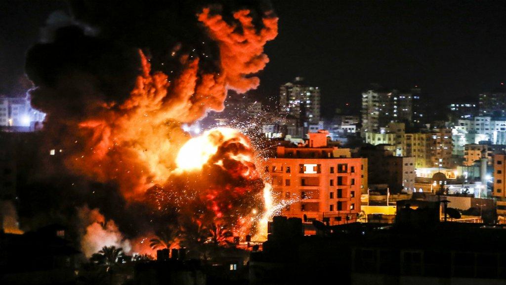 66 ataques aéreos israelíes en menos de 12 horas dejan sin hogar a docenas de civiles palestinos