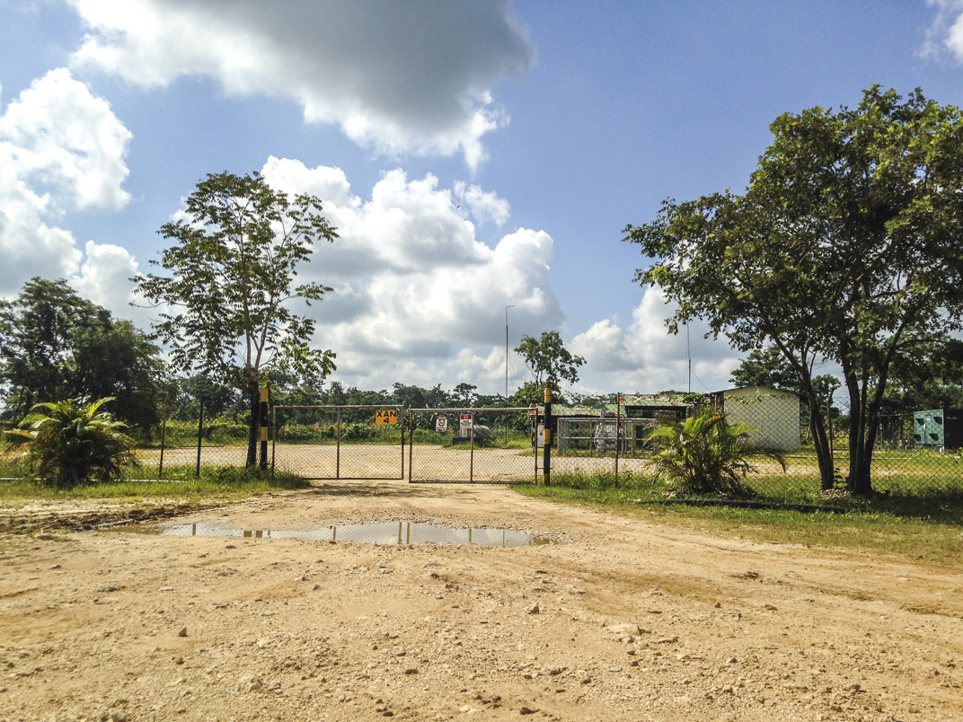 The Xan well represents the main complex for the extraction of hydrocarbons in Guatemala
