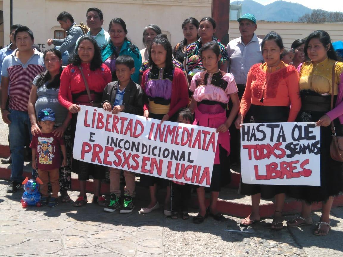 Chiapas: Presos anuncian huelga de hambre indefinida para exigir su libertad