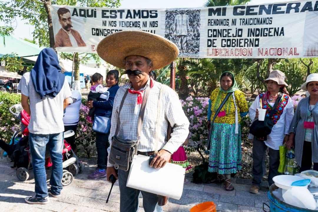 """De """"radicales de izquierda y conservadores"""",  indígenas en México ahora son catalogados por gobierno como """"focos rojos"""""""