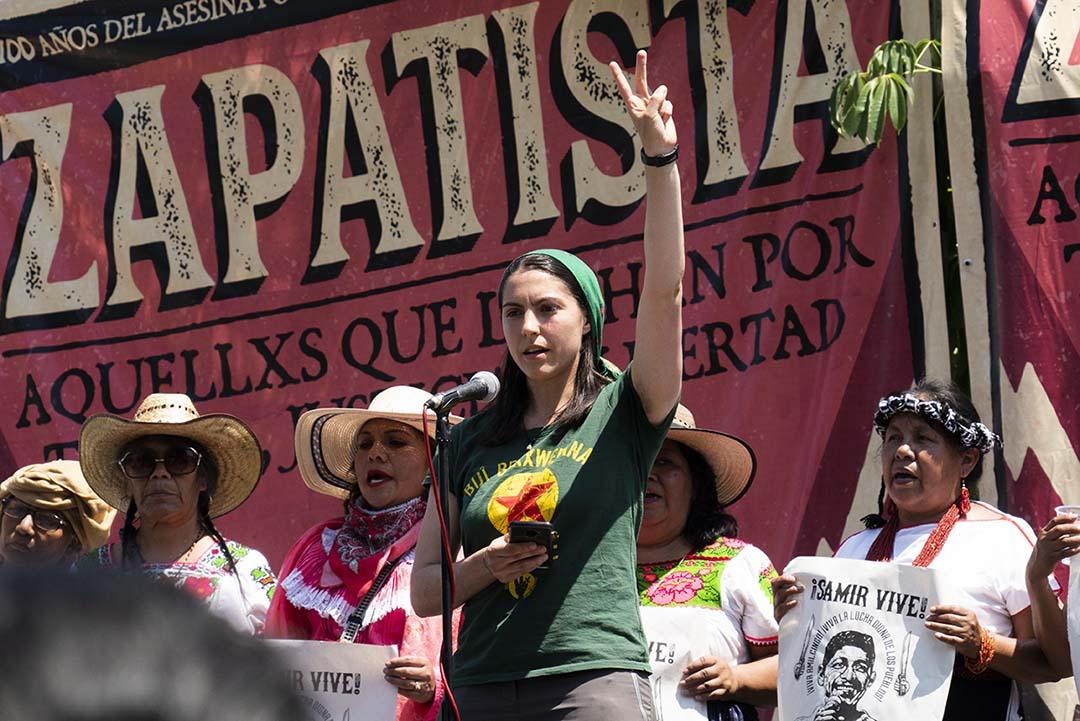 Solidaridad desde Kurdistán hasta Morelos, tierra de Zapata y de Samir