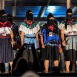 Crece oleada de personas que se suman a la Acción Global contra la militarización en territorio zapatista