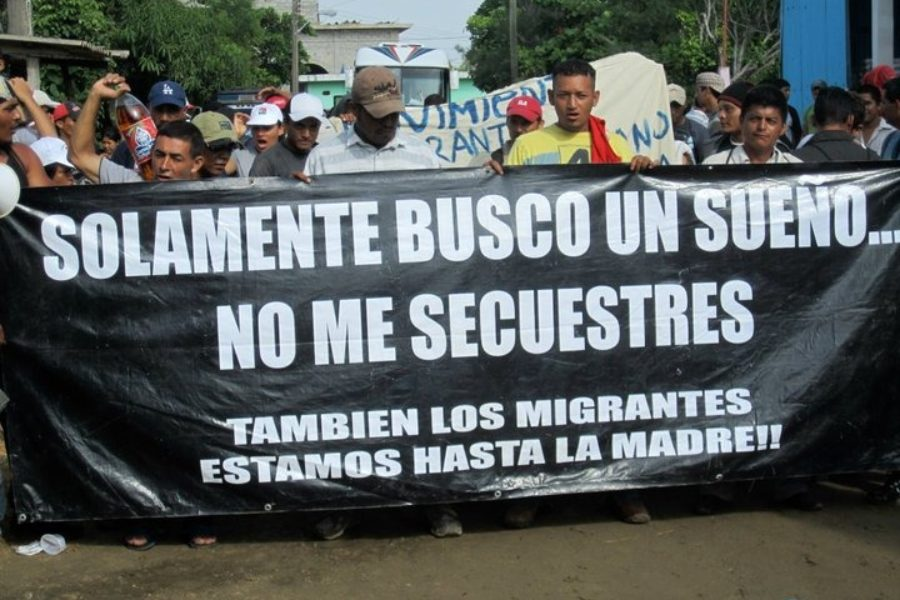 Mexico: At the roots of migrant caravans, protest against massive kiddnapping